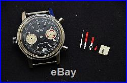 Nos Breitling 2110 Chrono-matic Case/dial/pushers/crown, Hands