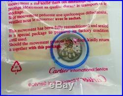 NOS Cartier 78-1 Watch Movement 78 Swiss 17 Jewels ETA 2512 Hand winding sealed