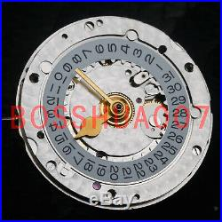 N F china 4hands 3186 movement for GMT time function blue balance spring 28.4 mm