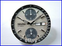 New Aftermarket Seiko Dial, Hands& Minute Track Fits Seiko Panda 6138-8020 Watch