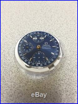 New Authentic Omega 1151 Chronograph Movement- With Dial, Hands, Factory Packaging