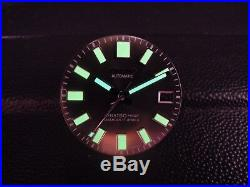 New Replacement 62mas Style Dial & Hands Fits Seiko Skx031 / Skx007 Divers Watch