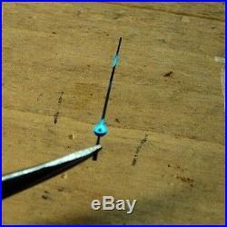 New old StockValjoux 23 72 Chronograph Set of 5 Hands DEEP BLUE LEAF
