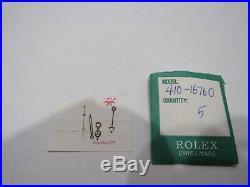 Nos Genuine Rolex Gmt Master II 16760 Vintage Tritium Hands Cream Lume Fat Lady