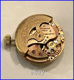OMEGA Ladymatic Caliber 683 Watch Movement Dial Hands Parts RUNS Running Works