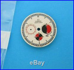 OMEGA Rare 1960s SEAMASTER SOCCER 145.016 145.020 VINTAGE Chronograph Dial Hands