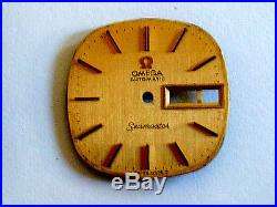 Omega Seamaster Day Date Swiss Automatic Watch Case Dial Hands Bracelet Parts