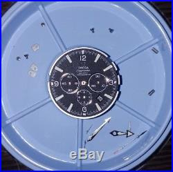 OMEGA cal 3313 37J Co-Axial Chronograph 600m Planet Ocean Movement, Dial, Hands