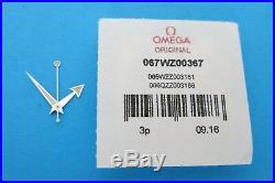 Omega 2000s SEAMASTER 300 SPECTRE Divers Calibre 8400 Mens Complete HAND Set NEW