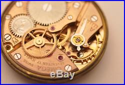 Omega 284 Movement Working With Dial Hands