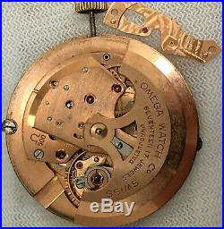Omega 500 Auto Seamaster 17 Jewels movement, Dial, Hands, Crown for parts/repair
