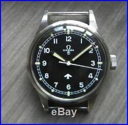 Omega 53 military Hand set Hour and Minute New old MOD watch stock RAF