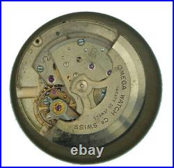 Omega Automatic Dial & Movement & Hands Cal. 503 Only For Parts Use. Working