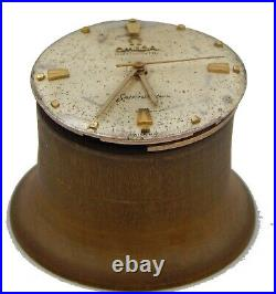 Omega Automatic Dial & Movement & Hands Cal. 550 Only For Parts Use. Working