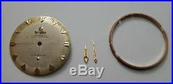 Omega Constellation Cadran Dial Aiguilles Hands Bague Ring Pour Cal. 501 505