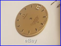 Omega Constellation Gold Dial And Hands