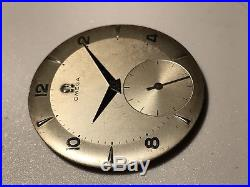 Omega Dual Tone Silver dial mm. 31,5 for 30T2,30T2PC, 265,266,267,268 with hands