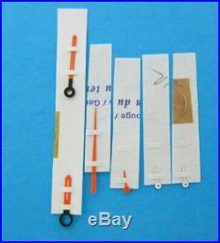 Omega GENUINE Seamaster SOCCER 861 CHRONOGRAPH 145.019 Hand Set 1960s NEW