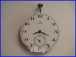 Omega Pocket watch Hand winding for repair or spare parts