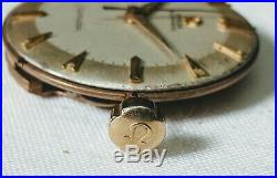 Omega Seamaster 354 Bumper Movement Running Dial Hands Crown and Stem 21451