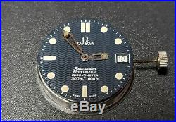 Omega Seamaster Professional Cal 1120, Dial & Hr Mn Hands