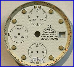 Omega Seamaster Professional Chronometer. Watch Dial, Hands, Crown, Crystal +