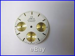 Omega Speedmaster Automatic Chronograph Cal. 1140 White Dial And Hands