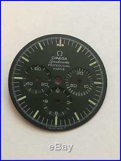 Omega Speedmaster Mark II Genuine Black Dial T Swiss T 145.014 and Partial Hands
