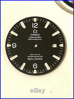 Omega Watch Dial / Hands / Crystal. Genuine Omega Watch Parts. Omega 3170 Dial