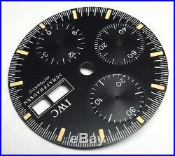 Original IWC dial, hands and disc for caliber ETA 7750