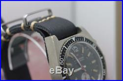 Original Majestime Hand Wind Chronograph 12041 Wrist Watch For Parts or Repair