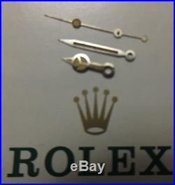 Original ROLEX VINTAGE TRITIUM HANDS SUBMARINER 5513,5512 Steel Nice Color