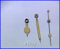 Original Rolex Vintage Tritium Gilt Flat 5508 1016 6200candle Stick Minute Hand