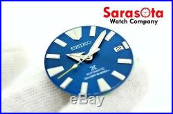 Original Seiko SRPB09/55 Complete Blue Dial with Hands Date Disc Brand New