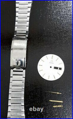 Original Vintage OMEGA Watch Dial, Hands And Parts
