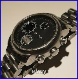 PartsCase, Dial, Hands, solid Bracelet. For 7750 Automatic Chronograph mov. Swiss