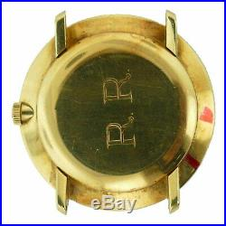 Patek Philippe Vintage 2572 Hand Winding Solid Gold Watch Head For Parts/repairs