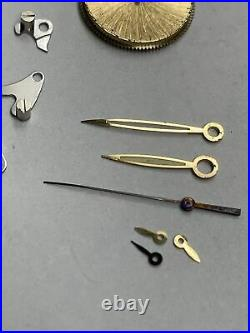 Patek Philippe Yellow Gold Hour Minute & Second Hands Set Steel With Parts