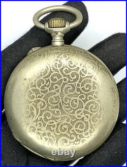 Paul Jeannot Genève 52274 Hand Manuale Vintage 50 MM No Lavora For Parts Pocket