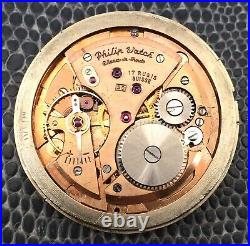 Philip Watch 50 Bal. Staff OK For Parts (index and hand in Gold 18K) 34,6mm