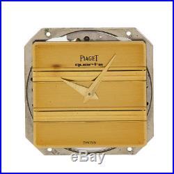 Piaget Polo 7P3 Movement Yellow Gold quartz dial hands broken for parts