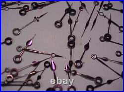 Plum Colored Illinois/ballantique Pocket Watch Assorted Hands For Parts/repair