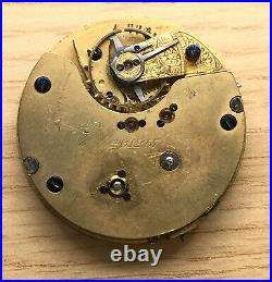 Pocket Watch 461257 Hand Manuale 45 MM No Funziona For Parts Tasca Vintage