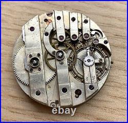 Pocket Watch Hand Manuale 31,5 MM No Funziona For Parts Balance Ok Tasca