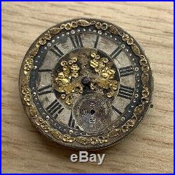 Pocket watch Hand Manual 31,5 MM Doesn'T Works For Parts Balance Ok Pocket