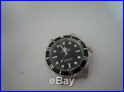 RAISED DIAL Military Vintage Submariner case, hands dial 316L 5513, DG2813