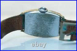 RARE Ingersoll Mickey Mouse Watch Sub Seconds Hand, Tonneau Mechanical PARTS