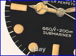 Rolex 100% Genuine Submariner 5513 Maxi Tritium Dial Matching Hands Rare Vintage