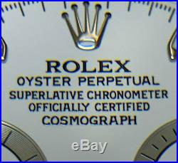 ROLEX 116520 DAYTONA dial hands