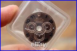 ROLEX 18K EVEROSE CHOCOLATE BROWN DAYTONA DIAL FITS 116515 & 116505 with Hands